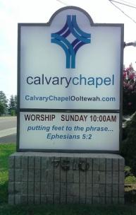 CalvaryChapelOoltewahSign