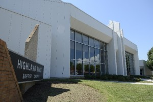 Highland Park Baptist Church - large auditorium