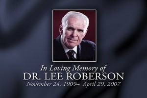 Dr. Lee Roberson