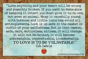 CS Lewis on Vulnerability